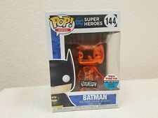 Funko Pop! Heroes Orange Chrome Batman #144 NYCC 2018 Toy Tokyo Exclusive Secret