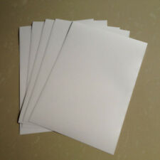 50pc A4 White Matte PP Synthetic Paper Self Adhesive Sticker for Inkjet Printer