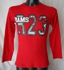 ***RAMS 23 MAGLIA Jersey MAGLIETTA T-SHIRT Tg. L  Cotone colore rosso
