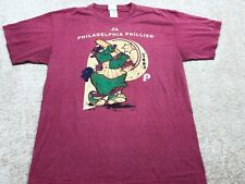Philadelphia Phillies Majestic MLB T-Shirt Men's Size Large Pink