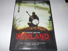 Gasland Part II DVD 2014 Film by Josh Fox Fracking Hydraulic Fracturing Region 1