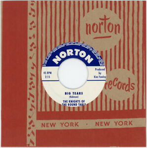 """THE KNIGHTS OF THE ROUND TABLE """"BIG TEARS c/w THE KNIGHTS"""" 60's GARAGE / DOO WOP"""