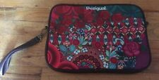 DESIGUAL Beautiful Floral Carry On Bag/Tablet Carrier