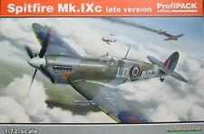 Eduard 1/72 Supermarine Spitfire Mk IXc EDK70121 edición tarde Profipack