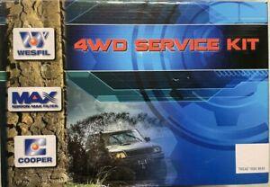 WESFIL FILTER SERVICE KIT FIT TOYOTA LANDCRUISER VDJ200 4.5L 1VD 1VDFTV 11/07-ON