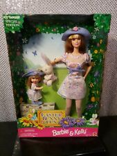 EASTER BUNNY FUN BARBIE & KELLY DOLL 1998 TARGET EXCLUSIVE MATTEL #21720 NRFB
