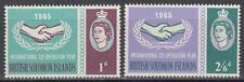 Solomon Islands 1965 ** Mi.130/31 Zusammenarbeit Co-operation Year [sq6114]