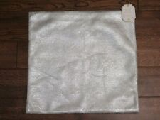 Pottery Barn Teen Faux Suede Metallic Pillow Cover New 18 X 18