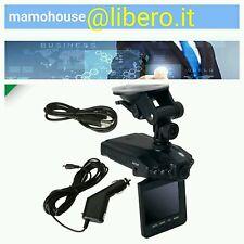 MINI DVR PORTATILE PER AUTO TELECAMERA INFRAROSSI SCHERMO LCD 2,5 REGISTRA SU SD