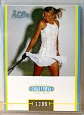 MARIA SHARAPOVA 2005 ACE AUTHENTIC SPECIAL EDITION #MS-6 - GEM MINT CARD