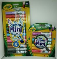 Crayola Pip Squeaks Washable Felt Tip Colouring Pens 7 Or 14 Mini Markers