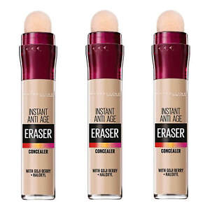 MAYBELLINE Instant Anti Age Eraser Concealer 6.8g SEALED - various shades