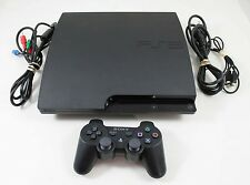 PS3 Slim System 120Gb (Model Cech-2001A Or 2101A)