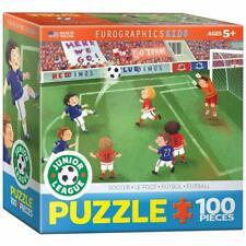 EuroGraphics Soccer Junior League Jigsaw Puzzle (60-Piece) Small Box