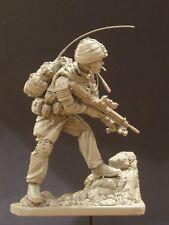 AC Models Modern British Soldier Afghanistan 120mm  Unpainted resin figure kit