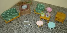 bundle of old Sylvanian  Familes accessories some rare all good condition lot 2
