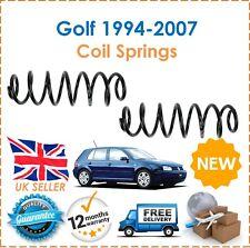 For VW Golf MK4 Estate 1994-2007 2 Rear Coil Springs Set Pair 1J0511115AE New