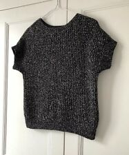 WOMENS HOBBS KNITTED TOP SIZE 8 JUMPER COSY WARM AUTUMN WINTER FORMAL WORK