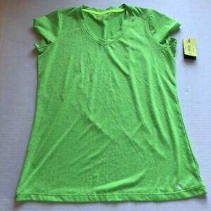 Xersion Bright Green Athletic Top Womens Sz S A2111