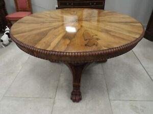 Fine Quality Antique Gillows Style Rosewood Breakfast Dining Table