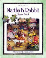 Martha B. Rabbit Jigsaw Book By Shirley Barber. 9781865034973