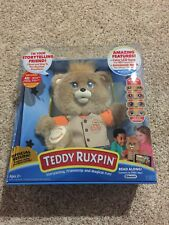 Teddy Ruxpin 2017 Animated Bear Bluetooth Rare , Sold Out , Brand New