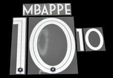 France Mbappe 10 Coupe du monde 2018 football shirt Nom/Numéro Set Home Player Taille