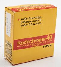 Kodak Super 8 Kassette Kodachrome 40 Filmkassette Type A 15m u.a für Leicina