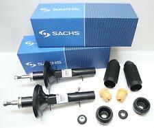 2x Sachs Stoßdämpfer + Domlager + Staubschutzsatz VORNE AUDI A3 SEAT SKODA VW