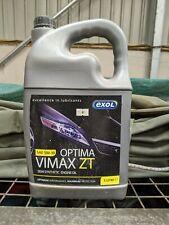 EXOL OPTIMA VIMAX ZT 5W-30 SEMI SYNTHETIC ENGINE OIL 5LTR BOTTLE