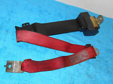 1990 1991 1992 1993 Mustang Lx Gt CONVERTIBLE RED LH REAR SEAT BELT RETRACTOR