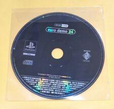 Euro Demo 34 Playstation DEMO PS1 VERSIONE ITALIANA