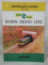 A GUIDE TO THE ROBIN HOOD LINE. NOTTINGHAM MANSFIELD