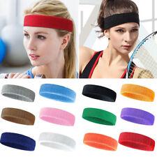 3 PCS Sports Headband Elastic Breathable Towel Hair Band Yoga Running Fitness