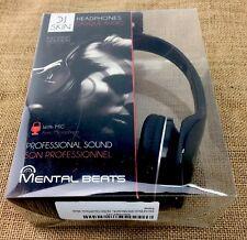 Mental Beats Headphones DJ Skin Professional Sound Over the Ear Headphones Music