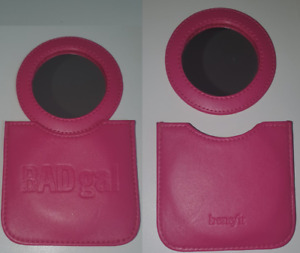 Benefit Bad Gal Pink Leather Effect Mirror And Holder