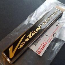 *JAPAN* 98-05 Toyota Aristo Vertex Door Emblem Set Lexus GS300 GS400 GS430