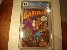 """Bongo Comics Bartman #1 CGC 9.6 Silver Foil Cover Bartman Poster """"New Slab"""" 1993"""
