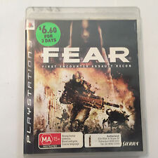 Fear First Encounter Assault Recon (Playstation 3 Game, ExRental, MA15+)