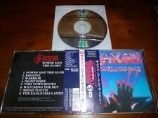 Saxon / Power & The Glory JAPAN TOCP-8445 1ST PRESS C10