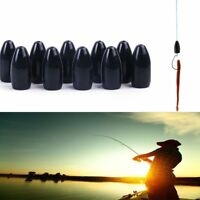 Droplets Durable Bullet Shape Tungsten Weight Tackle Sinker Fishing Lead Fall