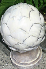 Figurine Décorative Pommes De Pin Sculpture Parasol Style Antique Used Look