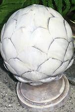 Figura decorativa piña de pino Escultura PINUS PINEA ESTILO ANTIGUO USADO óptica