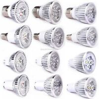 Lot GU10 MR16 E27 E14 LED Ultra Bright Downlight 9W 12W 15W Spot Light Lamp Bulb