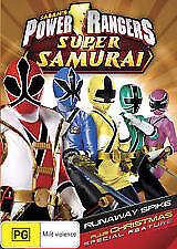 POWER RANGERS - SUPER SAMURAI DVD - LIKE NEW, ONLY VIEWED ONCE!!!