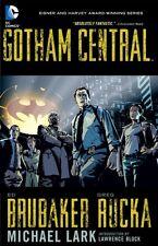 Gotham Central Omnibus, Brubaker, Ed, Rucka, Greg, 9781401261924