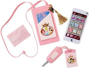 Disney Princess Phone Style Collection Cross Body Purse Play Phone Pink 98879