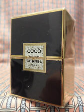 Vintage 1980s Chanel COCO 1/4 oz 7.5 ml Pure Parfum CRYSTAL Sealed FIRST FORMULA