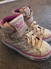 Girls Sketchers Twinkle Toes Size 10.5 10 1/2