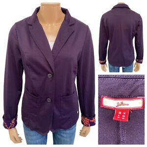 JOE BROWNS Womens Purple Two Button Blazer Jacket Size 14 UK